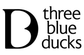 Three Blue Ducks logo